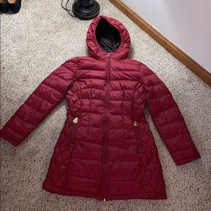 Michael Kors Red Lightweight Down Jacket - XSP